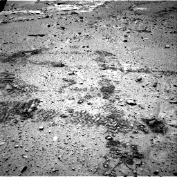 Nasa's Mars rover Curiosity acquired this image using its Right Navigation Camera on Sol 603, at drive 838, site number 31