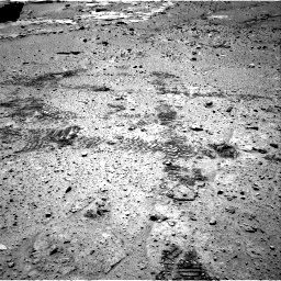 Nasa's Mars rover Curiosity acquired this image using its Right Navigation Camera on Sol 603, at drive 844, site number 31