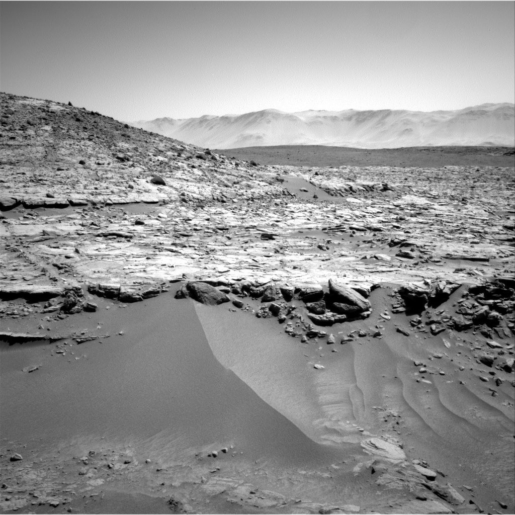 Nasa's Mars rover Curiosity acquired this image using its Right Navigation Camera on Sol 603, at drive 946, site number 31