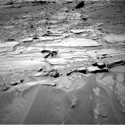 Nasa's Mars rover Curiosity acquired this image using its Right Navigation Camera on Sol 603, at drive 952, site number 31