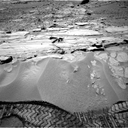 Nasa's Mars rover Curiosity acquired this image using its Right Navigation Camera on Sol 603, at drive 958, site number 31