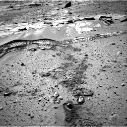Nasa's Mars rover Curiosity acquired this image using its Right Navigation Camera on Sol 603, at drive 982, site number 31