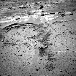 Nasa's Mars rover Curiosity acquired this image using its Right Navigation Camera on Sol 603, at drive 988, site number 31