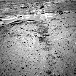 Nasa's Mars rover Curiosity acquired this image using its Right Navigation Camera on Sol 603, at drive 994, site number 31