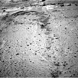 Nasa's Mars rover Curiosity acquired this image using its Right Navigation Camera on Sol 603, at drive 1000, site number 31
