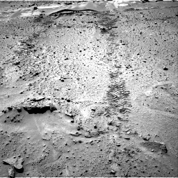 Nasa's Mars rover Curiosity acquired this image using its Right Navigation Camera on Sol 603, at drive 1018, site number 31