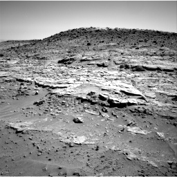 Nasa's Mars rover Curiosity acquired this image using its Right Navigation Camera on Sol 603, at drive 1042, site number 31