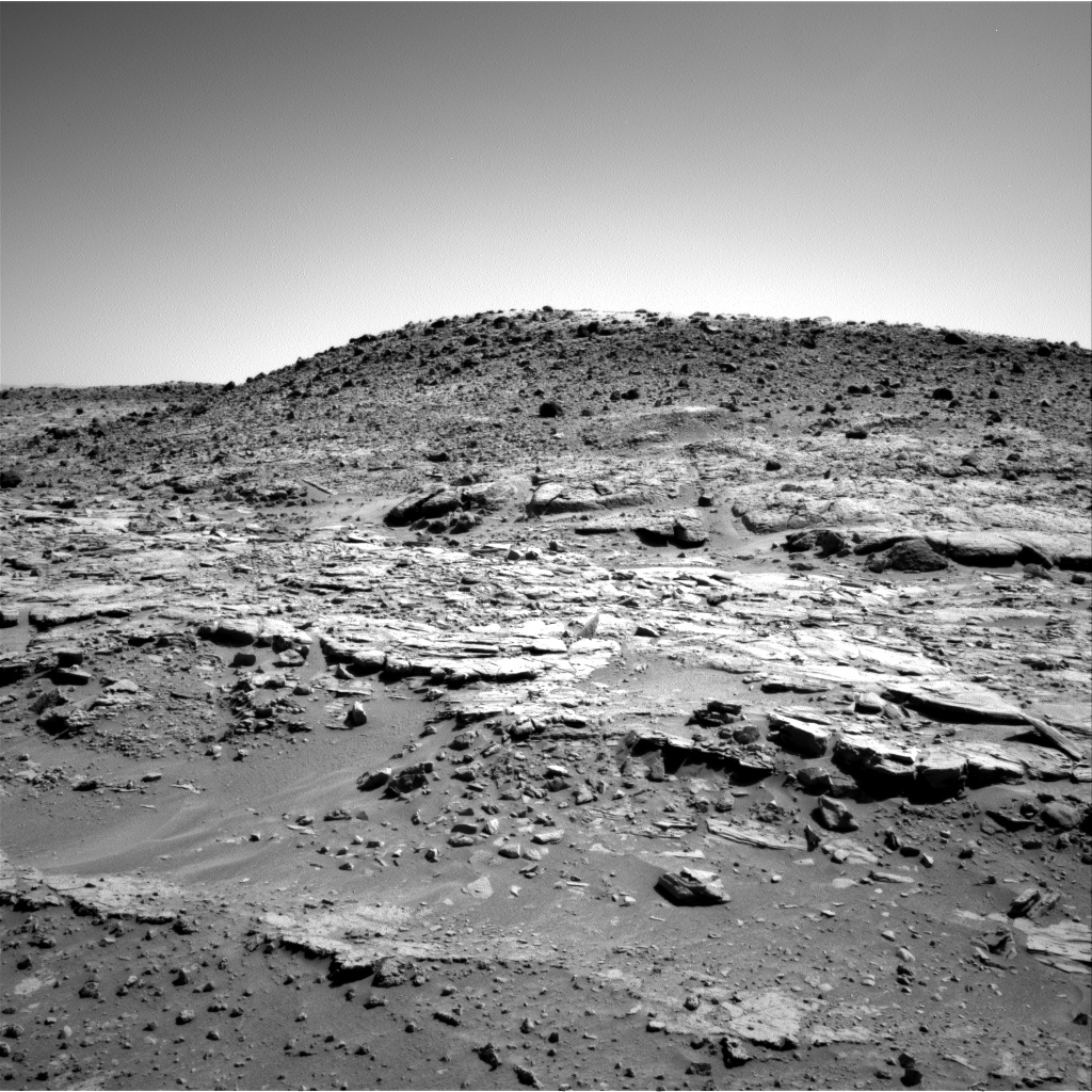 Nasa's Mars rover Curiosity acquired this image using its Right Navigation Camera on Sol 603, at drive 1052, site number 31