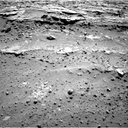 Nasa's Mars rover Curiosity acquired this image using its Right Navigation Camera on Sol 603, at drive 1058, site number 31