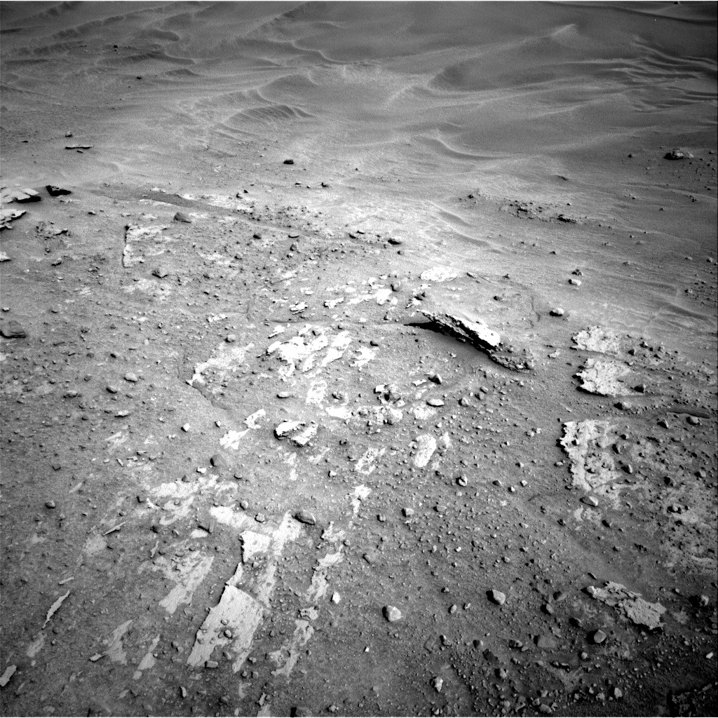 Nasa's Mars rover Curiosity acquired this image using its Right Navigation Camera on Sol 603, at drive 1064, site number 31
