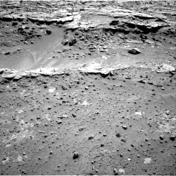 Nasa's Mars rover Curiosity acquired this image using its Right Navigation Camera on Sol 603, at drive 1070, site number 31