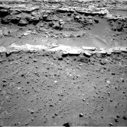 Nasa's Mars rover Curiosity acquired this image using its Right Navigation Camera on Sol 603, at drive 1088, site number 31