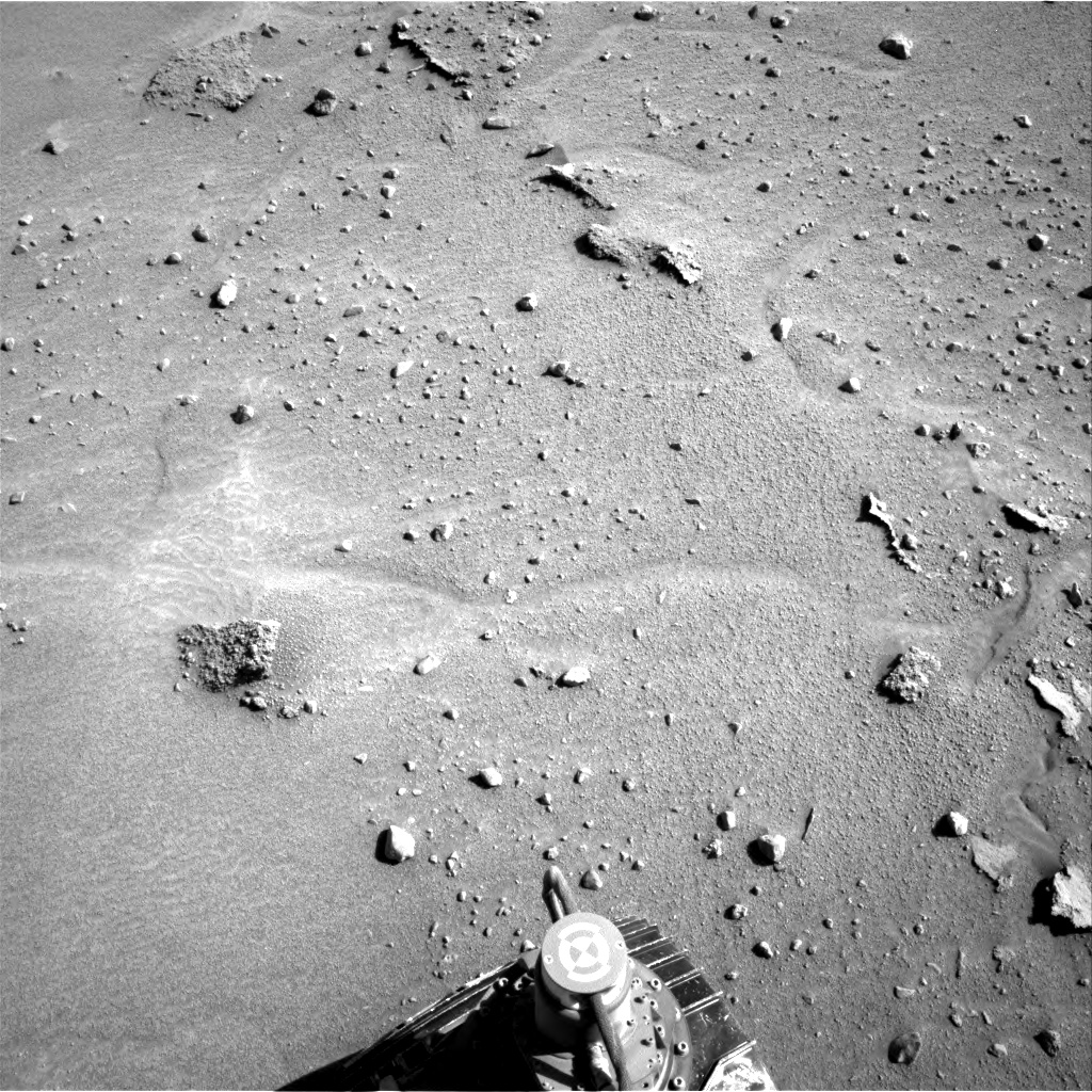 Nasa's Mars rover Curiosity acquired this image using its Right Navigation Camera on Sol 603, at drive 1094, site number 31
