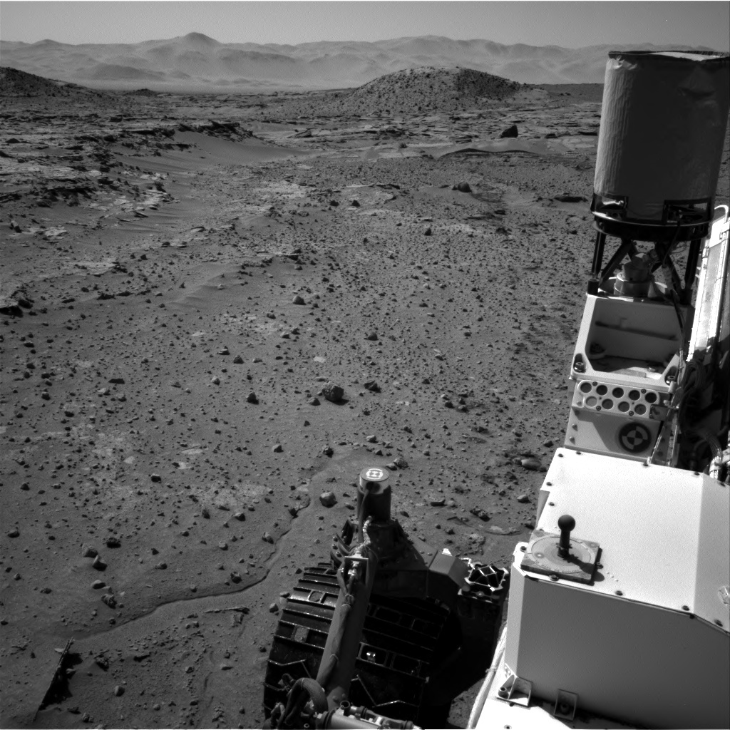 NASA's Mars rover Curiosity acquired this image using its Right Navigation Cameras (Navcams) on Sol 603