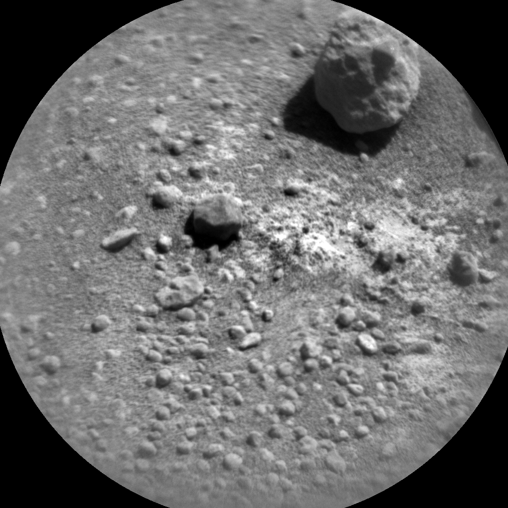 Nasa's Mars rover Curiosity acquired this image using its Chemistry & Camera (ChemCam) on Sol 604, at drive 1094, site number 31