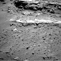 Nasa's Mars rover Curiosity acquired this image using its Left Navigation Camera on Sol 605, at drive 1094, site number 31