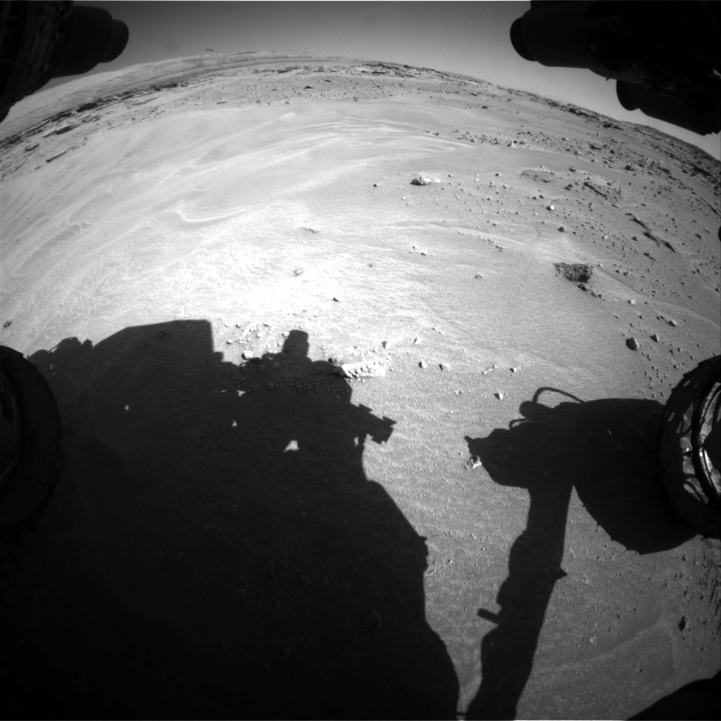 Nasa's Mars rover Curiosity acquired this image using its Front Hazard Avoidance Camera (Front Hazcam) on Sol 606, at drive 1094, site number 31