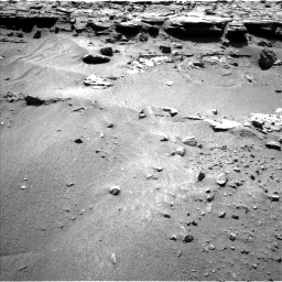 Nasa's Mars rover Curiosity acquired this image using its Left Navigation Camera on Sol 606, at drive 1166, site number 31