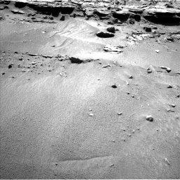 Nasa's Mars rover Curiosity acquired this image using its Left Navigation Camera on Sol 606, at drive 1172, site number 31