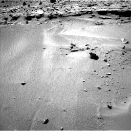 Nasa's Mars rover Curiosity acquired this image using its Left Navigation Camera on Sol 606, at drive 1208, site number 31