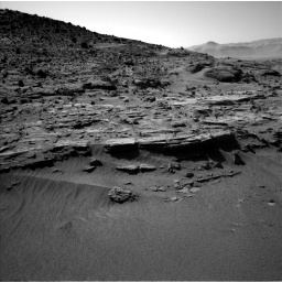 Nasa's Mars rover Curiosity acquired this image using its Left Navigation Camera on Sol 606, at drive 1238, site number 31