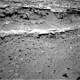 Nasa's Mars rover Curiosity acquired this image using its Right Navigation Camera on Sol 606, at drive 1100, site number 31