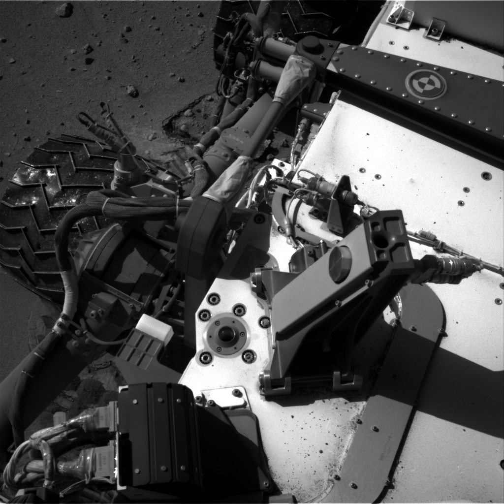 Nasa's Mars rover Curiosity acquired this image using its Right Navigation Camera on Sol 606, at drive 1130, site number 31