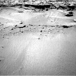 Nasa's Mars rover Curiosity acquired this image using its Right Navigation Camera on Sol 606, at drive 1190, site number 31