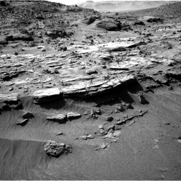 Nasa's Mars rover Curiosity acquired this image using its Right Navigation Camera on Sol 606, at drive 1250, site number 31
