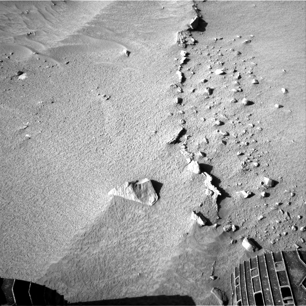 Nasa's Mars rover Curiosity acquired this image using its Right Navigation Camera on Sol 606, at drive 1256, site number 31