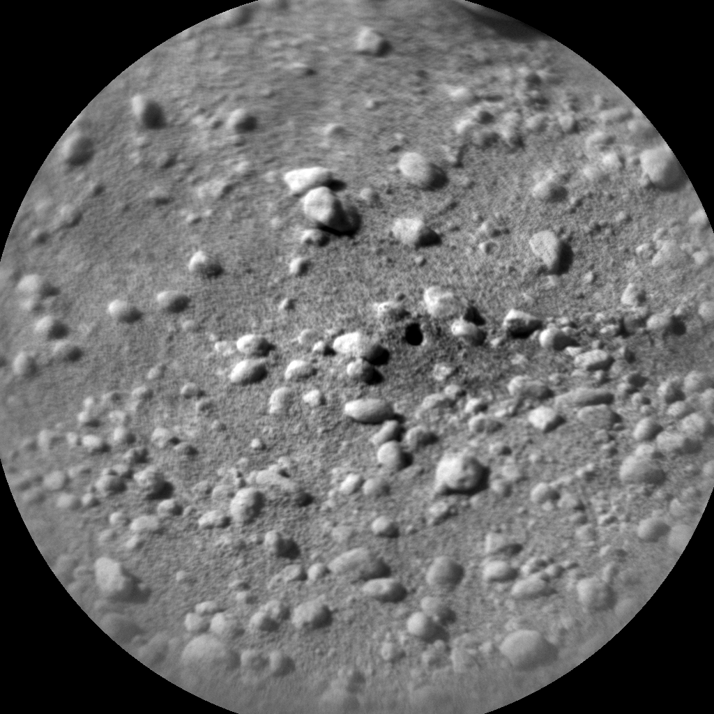 Nasa's Mars rover Curiosity acquired this image using its Chemistry & Camera (ChemCam) on Sol 607, at drive 1256, site number 31
