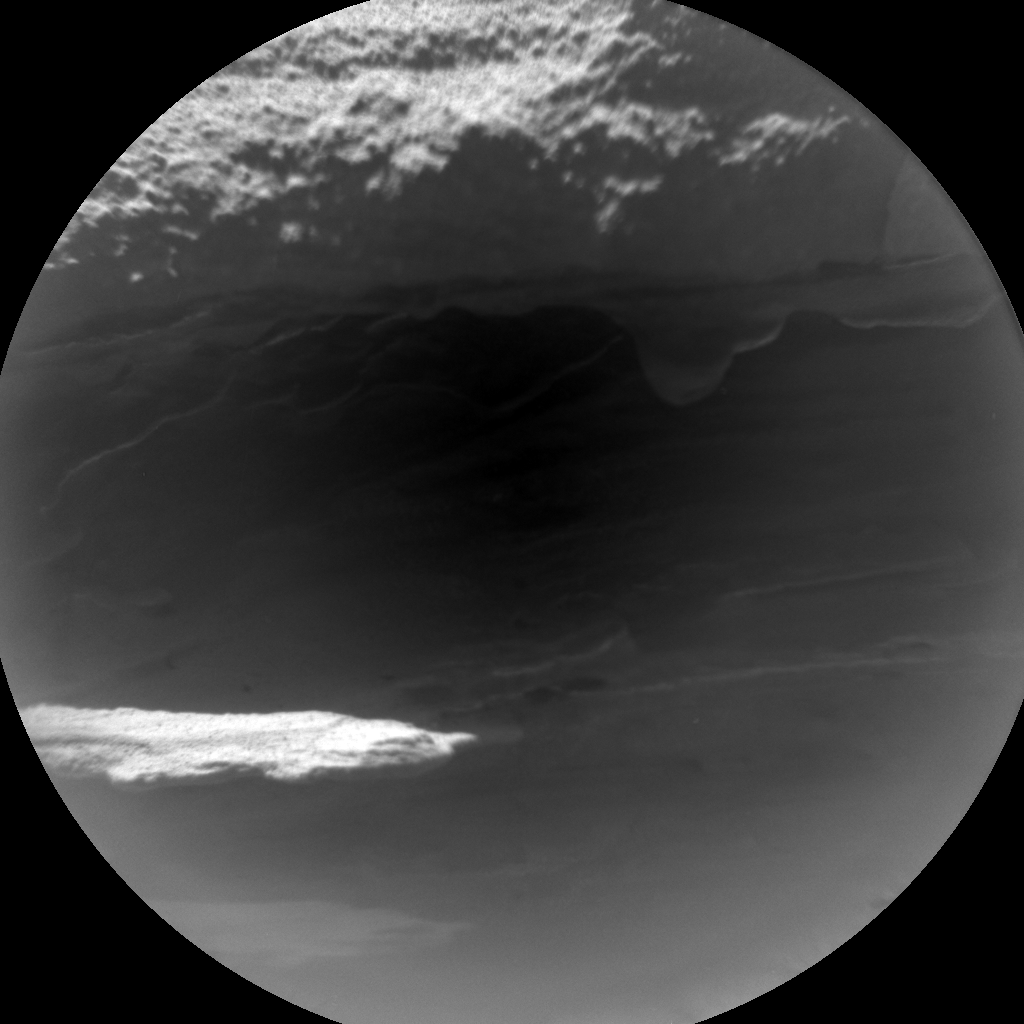 Nasa's Mars rover Curiosity acquired this image using its Chemistry & Camera (ChemCam) on Sol 608, at drive 1256, site number 31