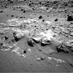 Nasa's Mars rover Curiosity acquired this image using its Left Navigation Camera on Sol 609, at drive 1268, site number 31