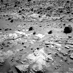 Nasa's Mars rover Curiosity acquired this image using its Left Navigation Camera on Sol 609, at drive 1310, site number 31