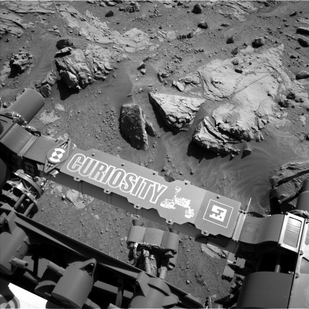Nasa's Mars rover Curiosity acquired this image using its Left Navigation Camera on Sol 609, at drive 1330, site number 31
