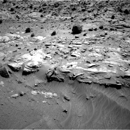 Nasa's Mars rover Curiosity acquired this image using its Right Navigation Camera on Sol 609, at drive 1262, site number 31