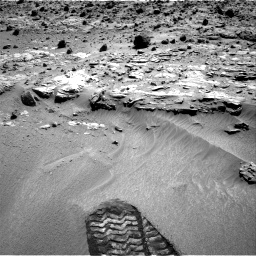 Nasa's Mars rover Curiosity acquired this image using its Right Navigation Camera on Sol 609, at drive 1286, site number 31