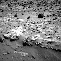 Nasa's Mars rover Curiosity acquired this image using its Right Navigation Camera on Sol 609, at drive 1298, site number 31
