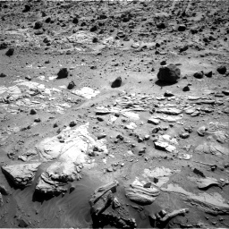 Nasa's Mars rover Curiosity acquired this image using its Right Navigation Camera on Sol 609, at drive 1304, site number 31