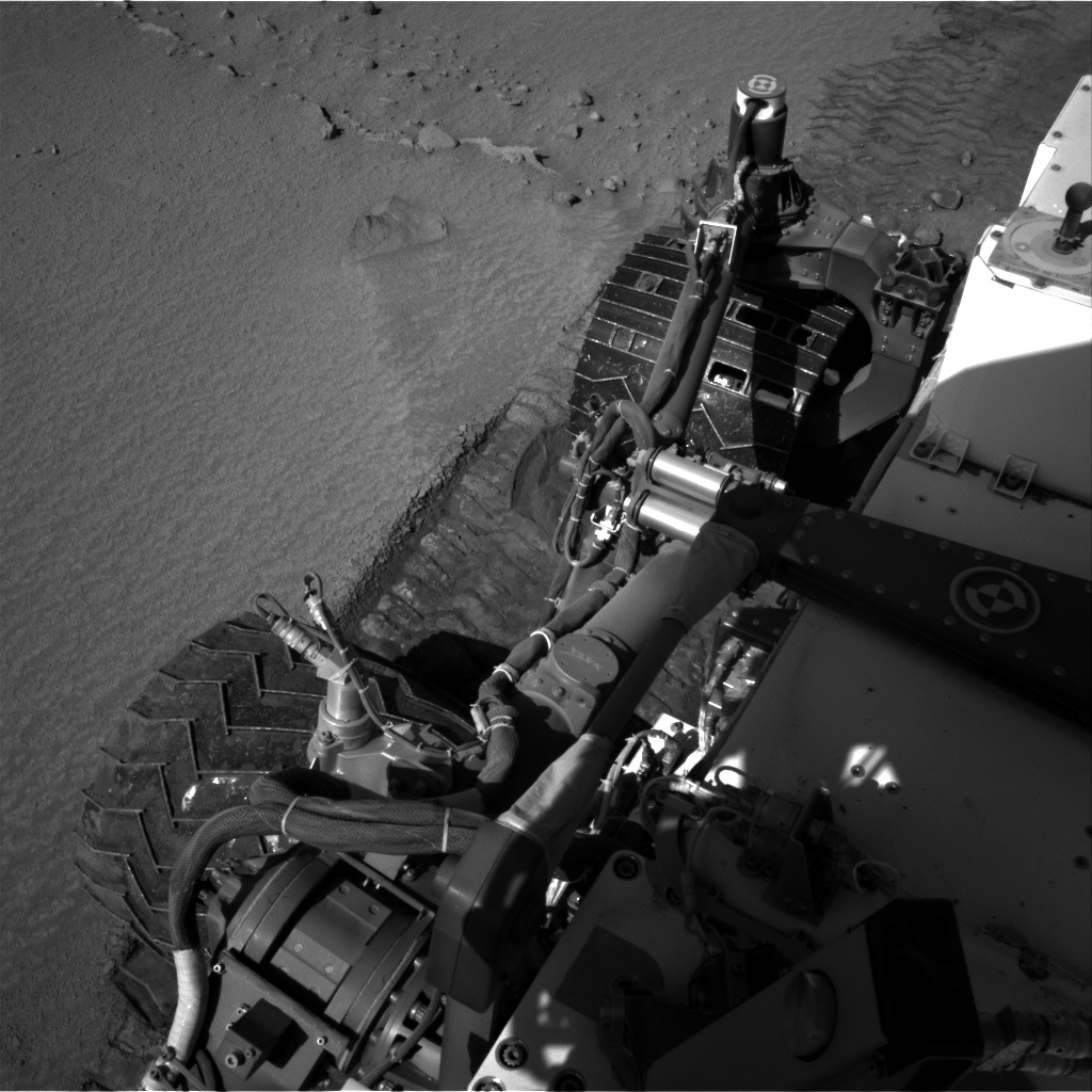Nasa's Mars rover Curiosity acquired this image using its Right Navigation Camera on Sol 609, at drive 1330, site number 31