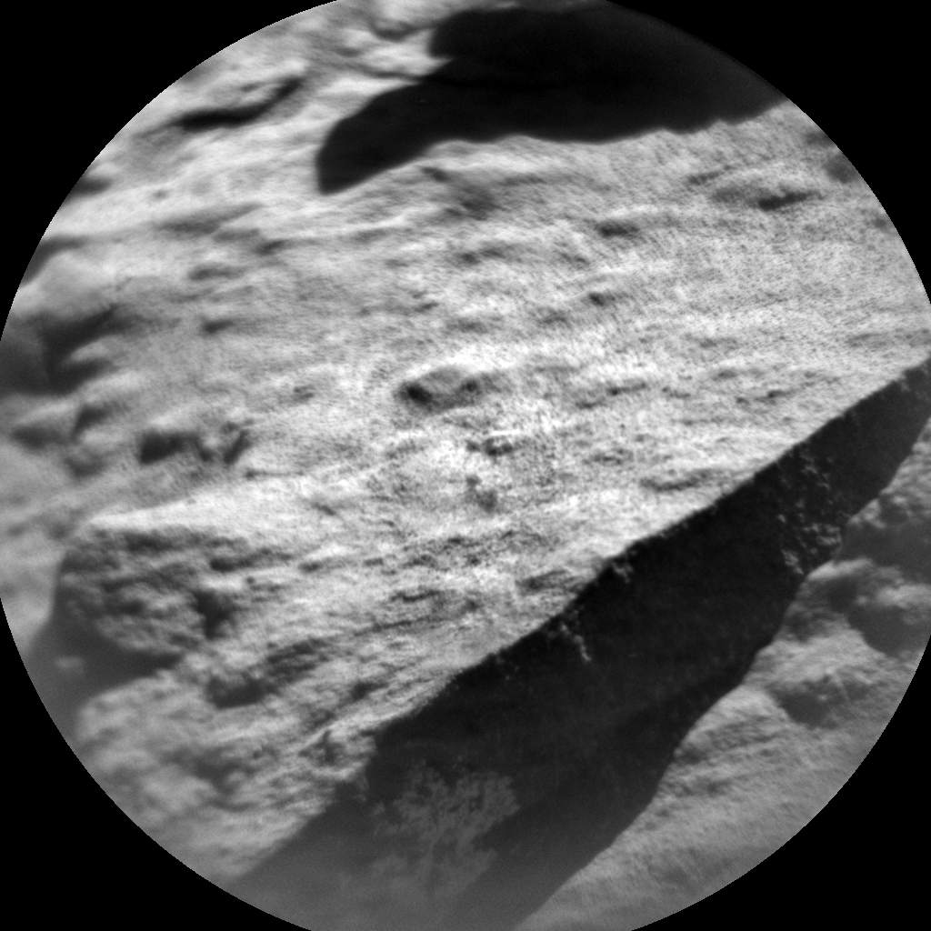 Nasa's Mars rover Curiosity acquired this image using its Chemistry & Camera (ChemCam) on Sol 609, at drive 1256, site number 31