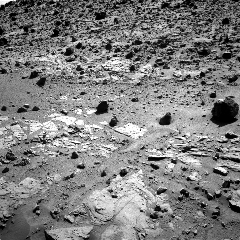 Nasa's Mars rover Curiosity acquired this image using its Left Navigation Camera on Sol 610, at drive 1330, site number 31