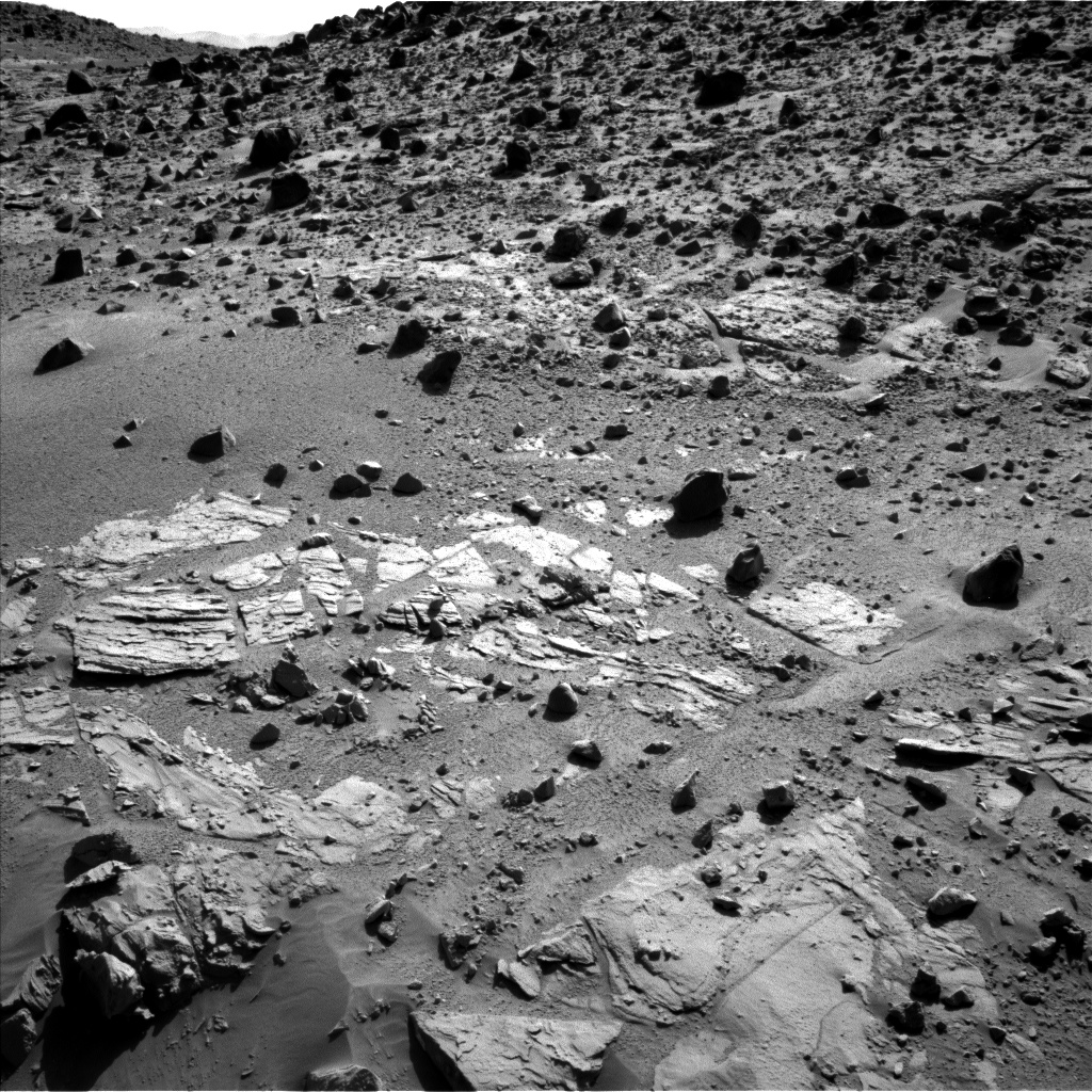 Nasa's Mars rover Curiosity acquired this image using its Left Navigation Camera on Sol 611, at drive 1330, site number 31
