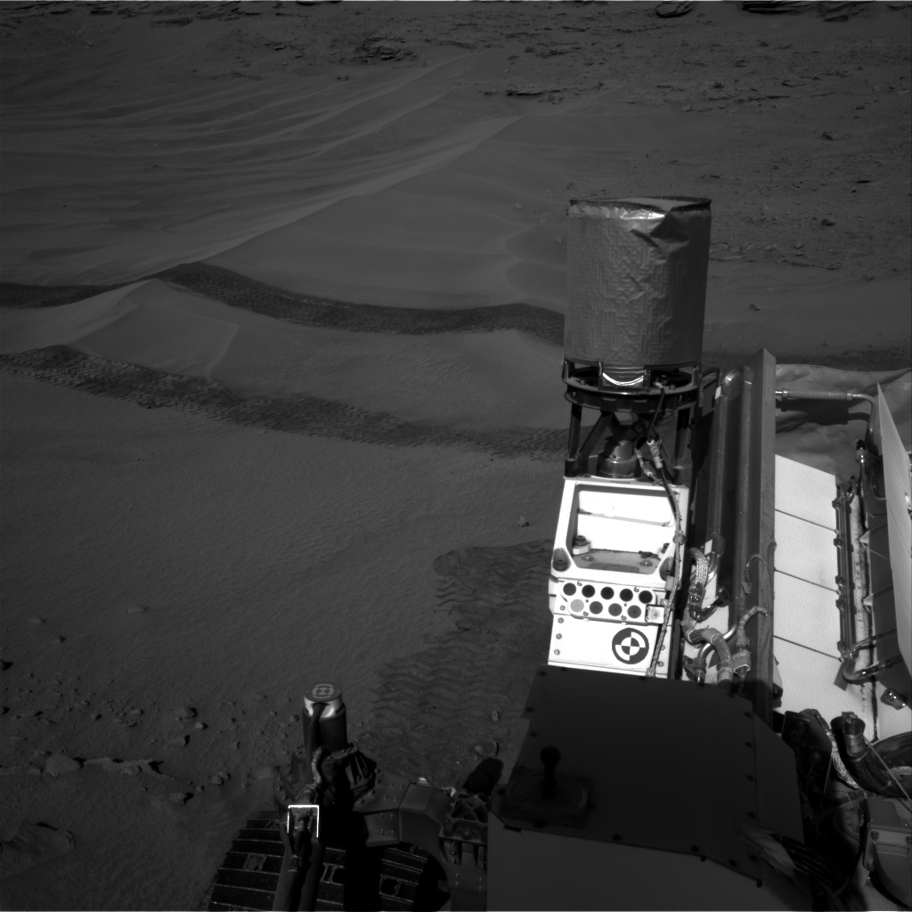 Nasa's Mars rover Curiosity acquired this image using its Right Navigation Camera on Sol 611, at drive 1330, site number 31