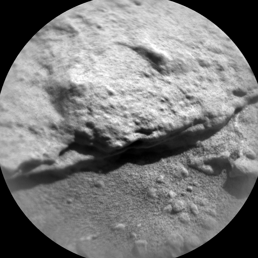 Nasa's Mars rover Curiosity acquired this image using its Chemistry & Camera (ChemCam) on Sol 611, at drive 1330, site number 31