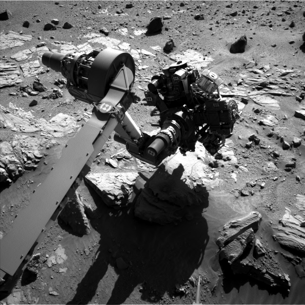 Nasa's Mars rover Curiosity acquired this image using its Left Navigation Camera on Sol 612, at drive 1330, site number 31