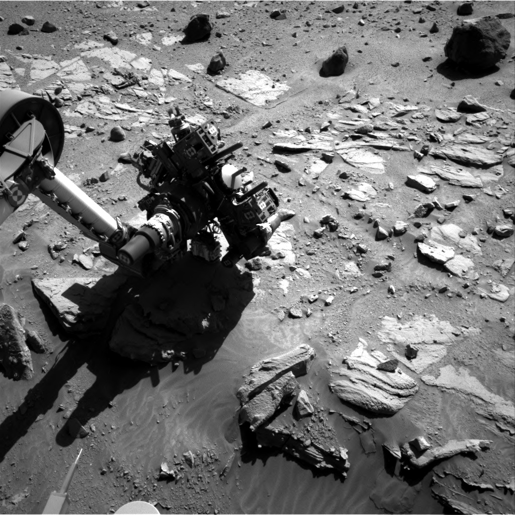 Nasa's Mars rover Curiosity acquired this image using its Right Navigation Camera on Sol 612, at drive 1330, site number 31