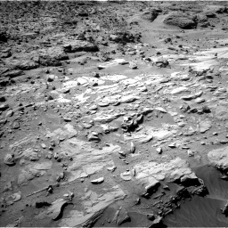 Nasa's Mars rover Curiosity acquired this image using its Left Navigation Camera on Sol 613, at drive 1330, site number 31
