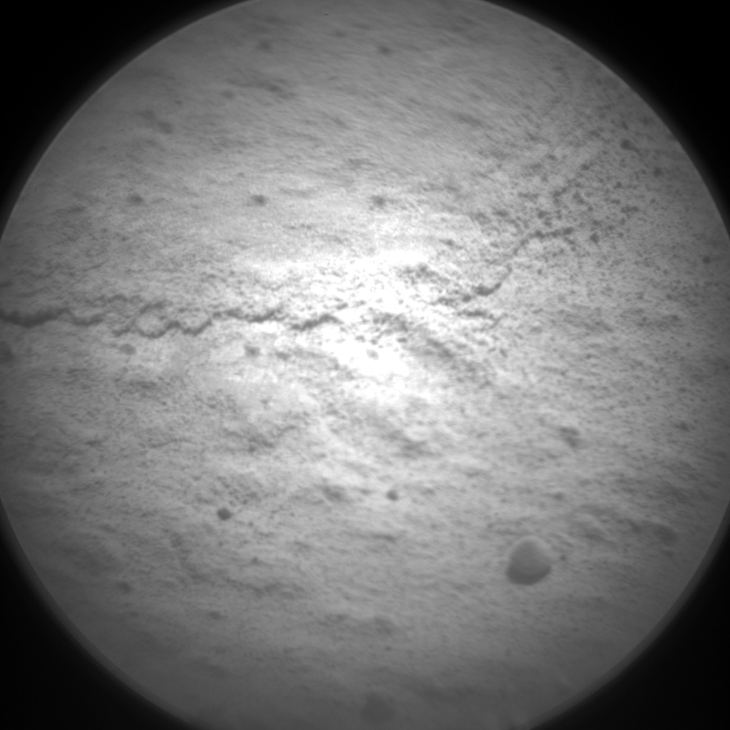 Nasa's Mars rover Curiosity acquired this image using its Chemistry & Camera (ChemCam) on Sol 614, at drive 1330, site number 31