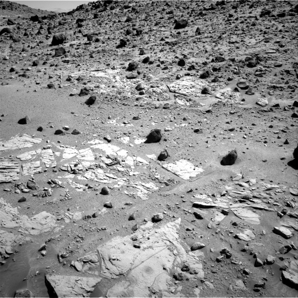 Nasa's Mars rover Curiosity acquired this image using its Right Navigation Camera on Sol 614, at drive 1330, site number 31